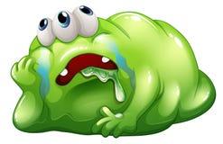 Ein enttäuschtes Monster Stockfoto
