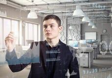 Ein erfolgreiches Geschäftskonzept Lizenzfreie Stockfotografie