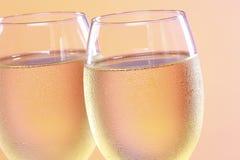 Ein erneuernglas Wein lizenzfreie stockbilder