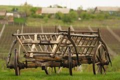 Ein erneuerter ländlicher Warenkorb Lizenzfreies Stockbild