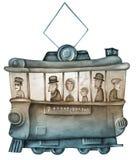 Eine Tram Stockfotos