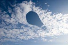 Ein Fühler ist im Himmel Lizenzfreies Stockfoto