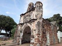 Ein Famosa, die portugiesische Festung in Melaka, Malaysia Stockbild