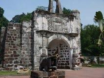 Ein Famosa-Fort, Malakka, Malaysia Stockfoto
