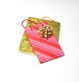 Feiertags-Paket-Taschen Stockfoto