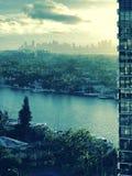 Ein feiner Blick in Miami, Florida, USA Stockfotografie