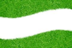 Ein Feld des grünen Grases Stockfoto
