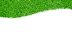 Ein Feld des grünen Grases Stockfotos
