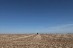 Ein Feld in Frankreich Stockfotos