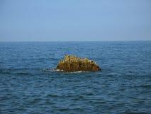 Ein Felsen Stockfoto