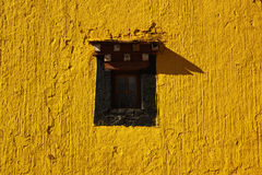 Ein Fenster in einem Tempel Lizenzfreie Stockfotografie