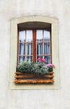 Ein Fenster im alten Haus Lizenzfreies Stockbild