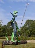 Ein Fischen-Dinosaurier Lizenzfreie Stockfotografie