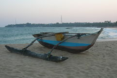 Ein Fischerboot stockfotos