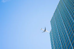 Ein Flug zum Geschäft Lizenzfreie Stockbilder
