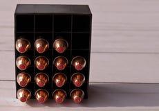 Ein Flugschreiber hohle Kugeln des Punktes 44spl, die 15 von ihnen zeigen lizenzfreie stockbilder