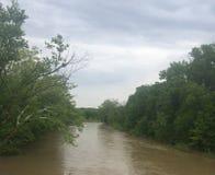 Ein Fluss Lizenzfreie Stockfotografie