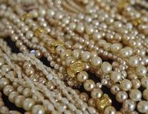 Ein Fluss von Perlen Lizenzfreies Stockfoto