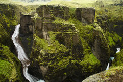 Ein Fluss von Süd-Island Lizenzfreies Stockbild