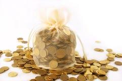 Ein Fonds voll Geld Stockfotos