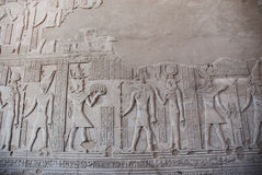 Ein Foto des alten ägyptischen Indexes Stockfoto