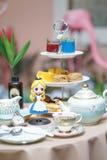 Ein Foto von Alices Abenteuer im Märchenland lizenzfreies stockfoto