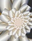 Ein Fractalhochzeitsblumenstrauß Stockfotografie