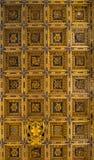 Ein Fragment der Decke des Gebäudes der Renaissance Stockbild