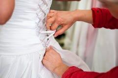 Ein Fragment der Hochzeitsordnung Lizenzfreies Stockfoto