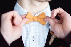 Ein Fragment der Hochzeitsordnung Lizenzfreie Stockfotos