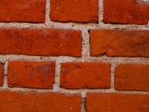 Ein Fragment einer alten Backsteinmauer lizenzfreie stockfotografie