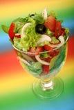 Ein frischer Salat Stockfoto