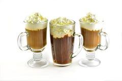 ein frischer Tasse Kaffee stockfoto