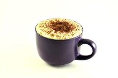 ein frischer Tasse Kaffee lizenzfreie stockfotos