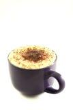 ein frischer Tasse Kaffee lizenzfreie stockbilder