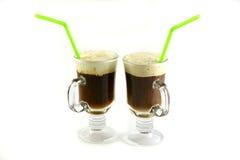 ein frischer Tasse Kaffee stockfotos