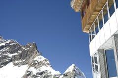 Ein Gebäude in der Schweiz. Stockfoto