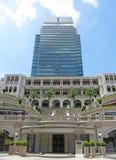 Ein Gebäude in Hong Kong Lizenzfreie Stockbilder