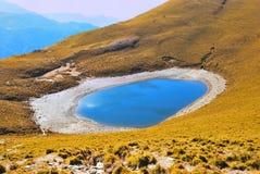 Ein Gebirgssee Stockfotos