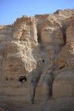 Ein Gedi岩石山风景,以色列 免版税库存照片