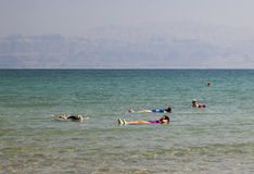 Ein Gedi Beach. Dead Sea, Israel Stock Image
