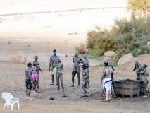 Ein Gedi il trattamento 2010 del fango Fotografia Stock