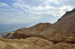 Ein Gedi ravine. Royalty Free Stock Images