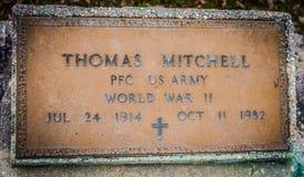 Ein Gefreiter des Weltkrieg-11 in der Armee stockbild
