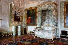 Ein gelieferter Raum im Schloss von Versailles lizenzfreies stockbild