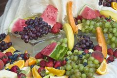 Ein Gemisch der Frucht Lizenzfreie Stockfotos