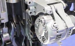 ein Generator in der Maschine stockfotos