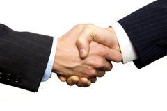 Ein Geschäfts-Händedruck Lizenzfreies Stockbild