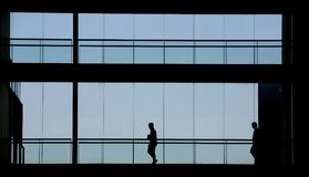 Ein GeschäftsArbeitsplatz oder Wohnungen Lizenzfreie Stockfotografie