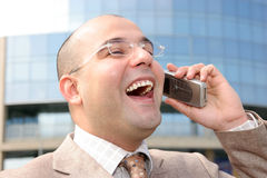 Ein Geschäftsmann Lizenzfreies Stockbild